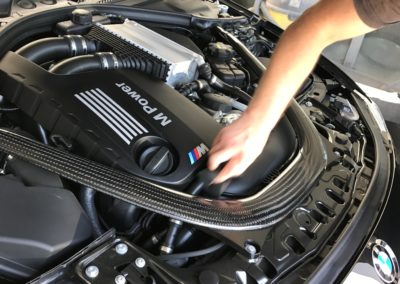 BMW-Motorhaube